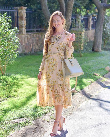 Spring midi dress http://liketk.it/3ccsJ #liketkit @liketoknow.it #LTKSpringSale #LTKstyletip #LTKeurope @liketoknow.it.europe