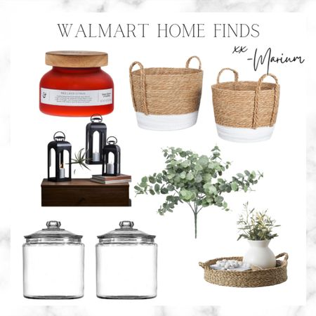 Some great Walmart home finds to help you get organized and to set the mood.   #LTKhome #LTKSeasonal #LTKstyletip