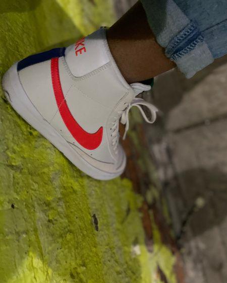 Nike Blazers  #shoes #nike #nikeblazers  Kids size 6.5/Women's size 7  http://liketk.it/3byI5 #liketkit @liketoknow.it #LTKSpringSale #LTKsalealert #LTKunder100