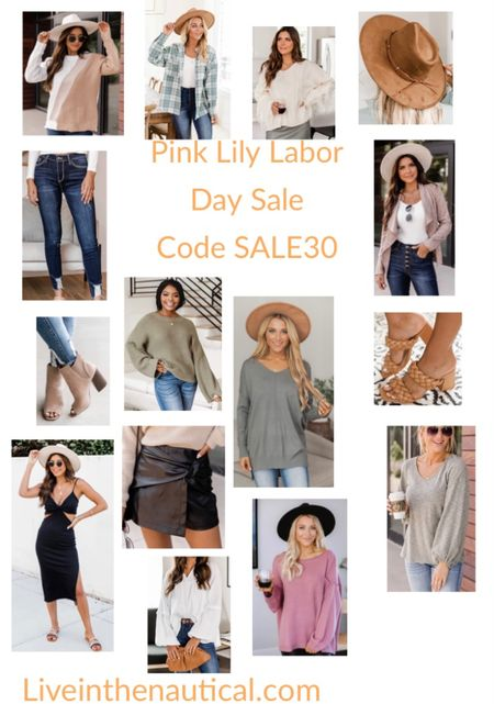 Pink Lily is one of my favorite brands for staple pieces that are also trendy and chic. They are having thirty percent off this weekend so stock up on those fall staple pieces! Use code SALE30   #LTKSeasonal #LTKsalealert #LTKstyletip