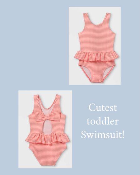 Cutest $12 toddler girl swimsuit! @liketoknow.it #liketkit http://liketk.it/3gDGW #LTKkids #LTKfamily #LTKunder50
