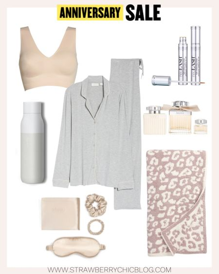 Love these pajamas because they're soft and light. Plus nursing friendly! Included all my favorite at-home beauty finds.   #LTKunder100 #LTKhome