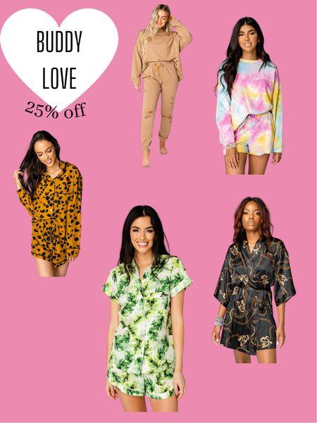 Buddy Love - Loungewear  Sleep wear / lounge wear / pajamas / robes  #LTKSale #LTKsalealert