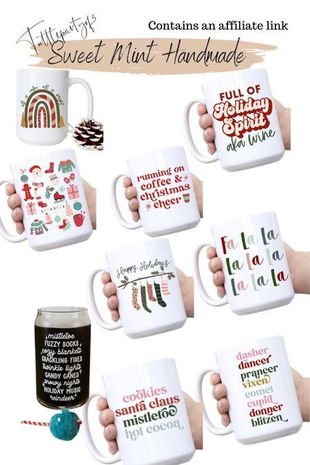 Holiday mugs make great gifts    #LTKHoliday #LTKGiftGuide #LTKunder50