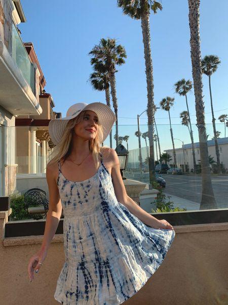 post - beach day wearing Bella Dahl! I'll be in this dress alll summer 💙  #LTKSeasonal