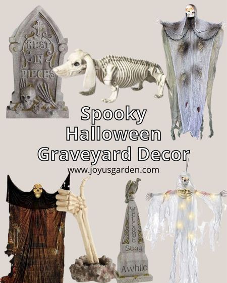 Turning your front yard into a spooky Halloween graveyard for Halloween 2021? Here are my favorite outdoor Halloween decorations for a Halloween graveyard. Halloween decor, outdoor Halloween decor, Halloween graveyard decor, spooky Halloween ideas, spooky Halloween decorations   #LTKhome #LTKSeasonal #LTKfamily