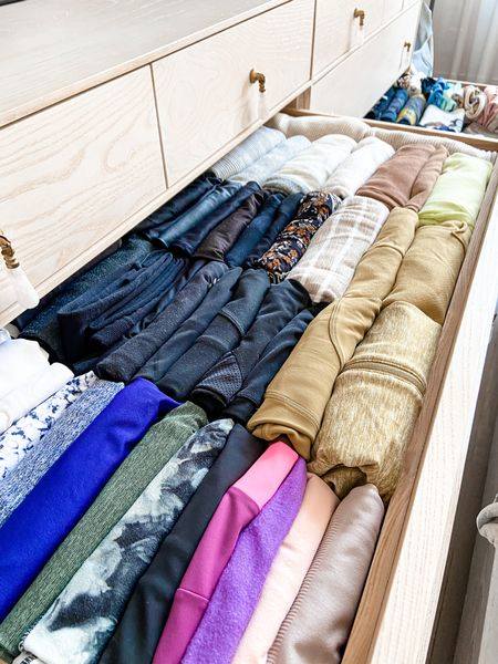 Hear me out: folding workout clothes is a mini workout itself . . . .  http://liketk.it/3aC2t #liketkit @liketoknow.it #StayHomeWithLTK #LTKhome   #organize #organization #organizationhacks #organizationtips #homeorganization #home #closet #closetorganization #decor #design #interiordesign
