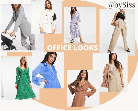 Office looks .. dresses and suits both perfect for a day at the office x 💕  #LTKeurope #LTKunder100 #LTKworkwear