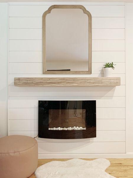 DIY fireplace   #LTKhome