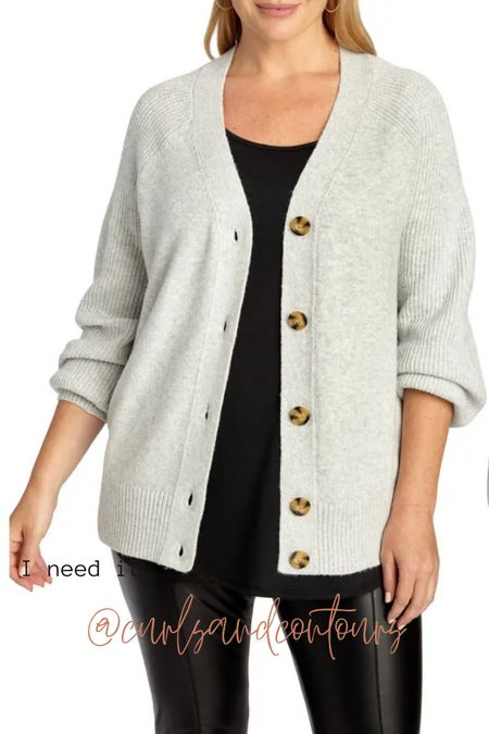 Chic plus size sweater to wear over all the things this fall!   #LTKunder100 #LTKSeasonal #LTKcurves