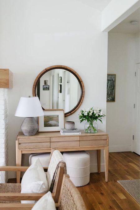 Living room decor inspiration. Affordable console table decor. Target style.    #LTKunder50 #LTKunder100 #LTKhome