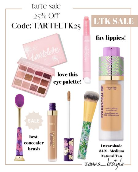 tarte 25% off sale #anna_brstyle  #LTKSale
