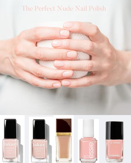 Finding the PERFECT nude nail polish to match your skin tone is no ease feat (no pun intended!). Here are some winners! | RidgelysRadar.com. #nudenailpolish #nailpoilish #Everydaynails #nudepolish #cleannails #cleanbeauty #Nails #nailcolor #toenails #polish #manicure #pedicure    #LTKSeasonal #LTKunder50 #LTKbeauty