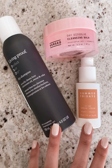 Recent beauty empties! Dry shampoo, cleansing balm, vitamin c serum   #LTKGiftGuide #LTKunder50 #LTKbeauty