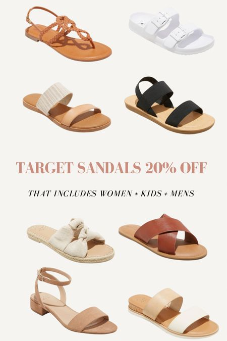 Target 20% off sale for all Sandals. http://liketk.it/3gkAi #liketkit @liketoknow.it #LTKunder50 #LTKstyletip @liketoknow.it.home Shop my daily looks by following me on the LIKEtoKNOW.it shopping app