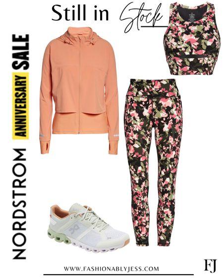 #nsale activewear look in stock Wearing small in leggings and medium in bra top   #LTKsalealert #LTKunder50 #LTKunder100