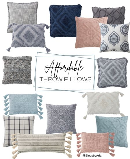 Affordable throw pillows from the My Texas House line at Walmart! These pillows go with so many decor styles!  Walmart finds home decor Walmart decor   #LTKunder50 #LTKhome