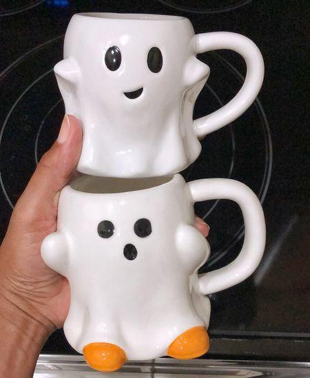 Target Kitchen and Dining - New Arrivals! Ghost Mugs for Halloween | Target Home Decor, coffee mug, home decor, autumn decor, fall style, target style #targetstyle #falldecor #LTKFall   #LTKunder100 #LTKhome #LTKfamily #LTKunder50