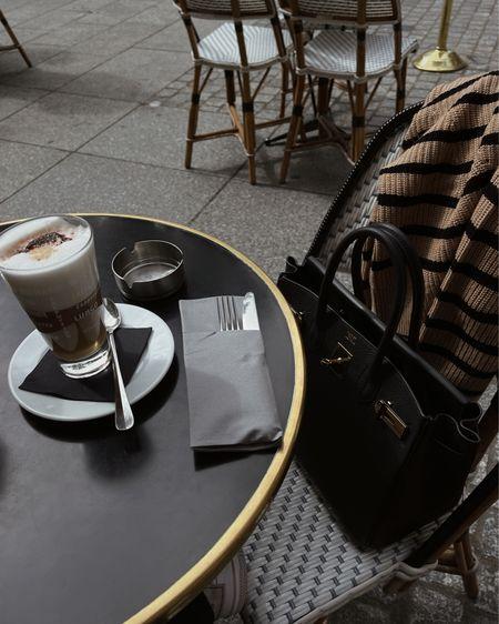 Coffee break at Le Nemours in Paris.
