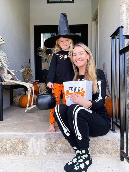 Can you even handle Emma in this witch hat? #melting // What are your Halloween plans ? We are excited to trick or treat in our neighborhood & hang out with family!     #LTKHoliday #LTKstyletip #LTKfamily