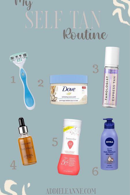 My at home self tan routine! These steps make it so easy to get a natural glow for summer! http://liketk.it/3c8xa #liketkit @liketoknow.it #LTKbeauty #LTKswim #LTKsalealert