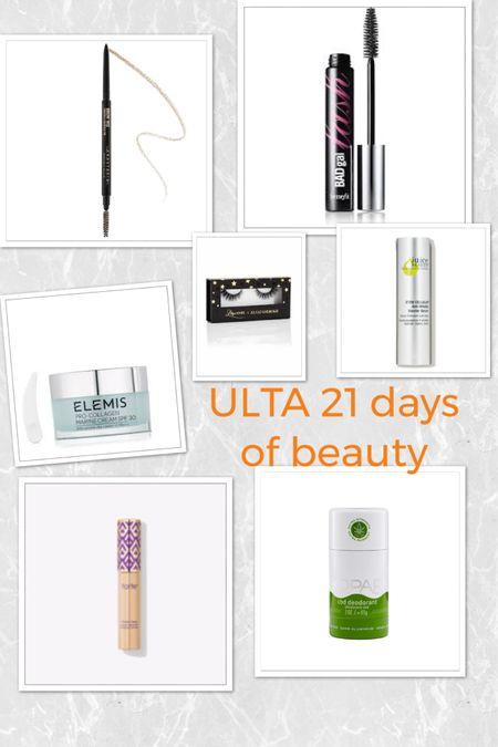 Week 1 picks #Ulta 21 days of Beauty / 50% off favs! http://liketk.it/2LBU6 #liketkit @liketoknow.it #LTKbeauty #LTKunder100 #LTKsalealert
