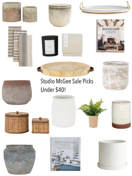 McGee & Co. Memorial Day sale picks under $40!  It's a great time to buy a piece of decor you've been eyeing!    You can instantly shop all of my looks by following me on the LIKEtoKNOW.it shopping app http://liketk.it/3g0rM #liketkit @liketoknow.it @liketoknow.it.home   #LTKhome #LTKstyletip #LTKunder50