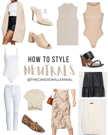 Watch my Instagram Reel @thecandidmillennial posted 9/8/20 to see these outfits styled! 🤎🤍🧡 http://liketk.it/2W2z6 #liketkit @liketoknow.it
