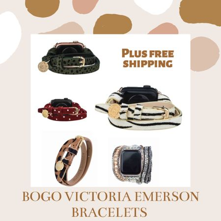Buy one get one Victoria Emerson wrap bracelets and wrap Apple Watch bands!!! Get free shipping over $50 for Black Friday deals 💗 #liketkit http://liketk.it/32h5X @liketoknow.it #LTKgiftspo #LTKsalealert #LTKunder50 Shop my daily looks by following me on the LIKEtoKNOW.it shopping app
