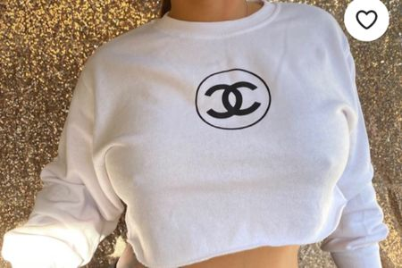 HOW CUTE are all these Chanel logo tops I found! I love the style and crop of all of these! We got sport looking tops and casual looking ones! Pick yours! http://liketk.it/323Mq #liketkit @liketoknow.it #LTKstyletip #LTKunder100 #LTKunder50 @liketoknow.it.brasil @liketoknow.it.europe @liketoknow.it.family @liketoknow.it.home