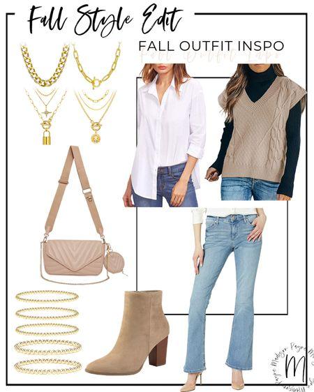 Fall Outfit Inspo 🍁 #amazon#amazondeals #amazonfashion #amazonstyle #amazonsale #falloutfits #fallfashion #businesscasual   #LTKstyletip #LTKSeasonal #LTKsalealert