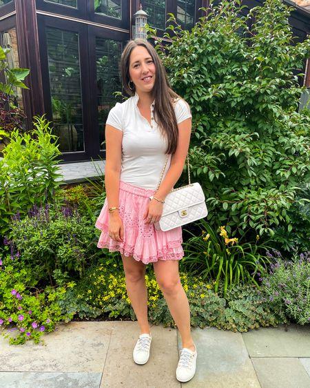 Feeling like a ballerina 🩰 🩰  in this skirt http://liketk.it/3lJCP @liketoknow.it #liketkit Shop my daily looks by following me on the LIKEtoKNOW.it shopping app