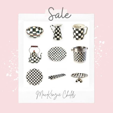 Mackenzie Childs BARN SALE🎉  Some of MY Favorite pieces are on SALE .. TODAY is Last Day of SALE🌸 Hurry and Grab a DEAL! Only once a year! . .   #LTKsalealert #LTKunder100 #LTKstyletip