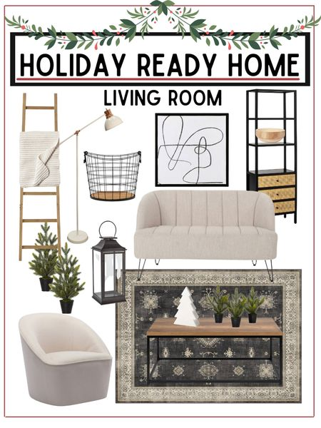 Living room refresh   Home furnishings and holiday decor linked below!        Living room , living room decor , home decor , holiday decor , Christmas decor , area rug , coffee table , target style , target home decor , target Christmas , walmart finds , walmart home decor , Christmas trees  #LTKHoliday #LTKSeasonal #LTKhome #LTKhome #LTKSeasonal #LTKHoliday