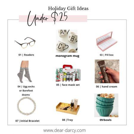 Gifts for her under $25 . Gifts she'll love! ..   #LTKHoliday #LTKGiftGuide