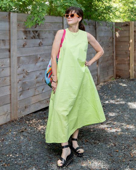When the future's so bright you gotta wear shades. And a dress to match.  . . . . . . .   #LTKstyletip #LTKunder100 #LTKsalealert