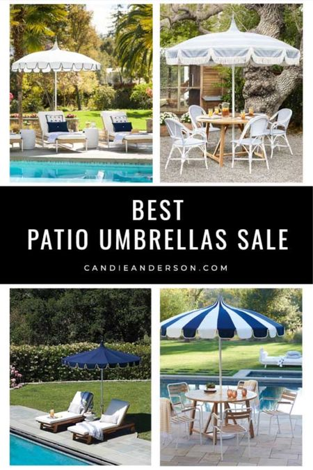 The best patio umbrellas sale. Serena & Lily Memorial Day Sale. Serena & Lily summer sale. Serena & Lily patio furniture sale. Serena & Lily outdoor furniture sale. Serena & Lily outdoor umbrellas sale. Serena & Lily patio umbrella. Stripe patio umbrella. ❤️ http://liketk.it/3gtLC #liketkit @liketoknow.it #LTKhome #LTKsalealert #ltkseasonal @liketoknow.it.home Shop your screenshot of this pic with the LIKEtoKNOW.it shopping app Shop my daily looks by following me on the LIKEtoKNOW.it shopping app