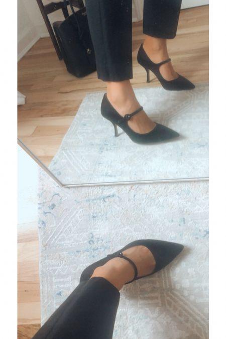Shoes for work Mary Hane heels black pumps work shoes   #LTKshoecrush #LTKworkwear #LTKstyletip