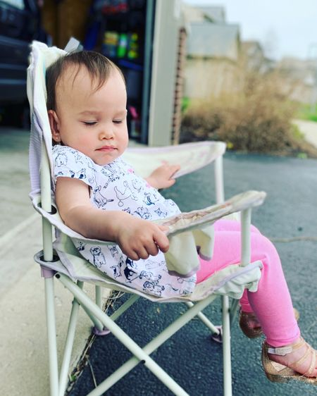 Looking forward to warmer days and sunshine rays.  My toddler loves her lawn chair.  And each year she uses it with the same love. http://liketk.it/3dsJd #liketkit @liketoknow.it Shop my daily looks by following me on the LIKEtoKNOW.it shopping app