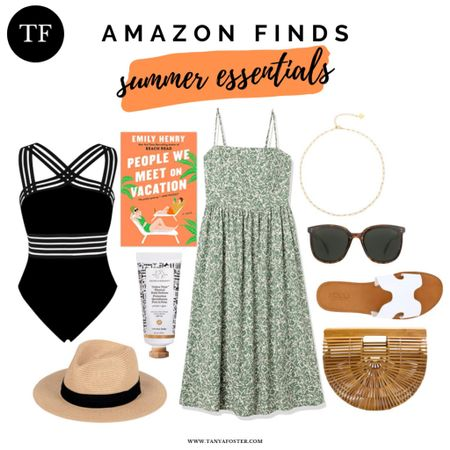 Perfect summer items from Amazon! #amazonfinds     #LTKSeasonal #LTKswim #LTKunder100