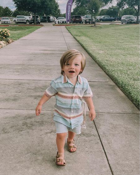 cutie boy walking into church http://liketk.it/3ijDA #liketkit @liketoknow.it #LTKkids #LTKbaby #LTKunder50 @liketoknow.it.family