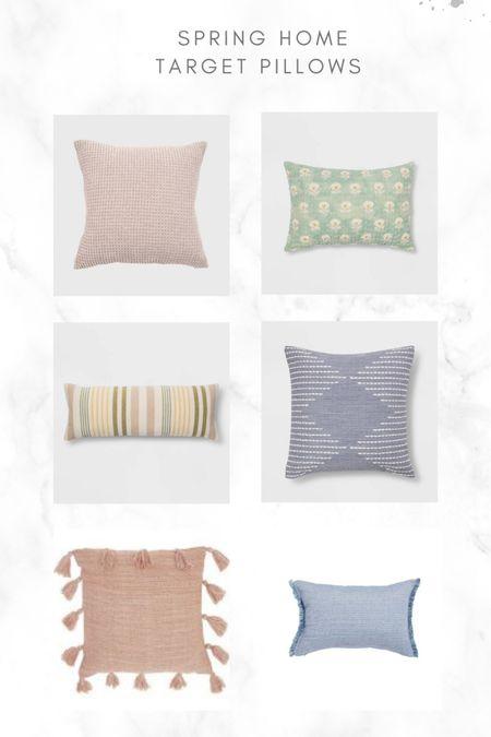Spring pillows! #target #pillows #springhome #home @liketoknow.it #liketkit http://liketk.it/3bbCS