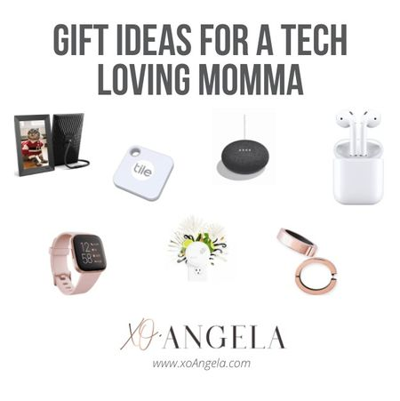 My favorite gift to give is the one that the recipient wouldn't buy for themselves. Something they didn't know they even wanted! Here's my gift guide for the tech loving mom! #holidaygiftguide #holidayshopping #giftideas #techgifts