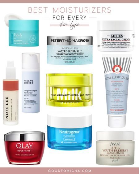 The absolute best moisturizers for every skin type! http://liketk.it/3gNi1 #liketkit @liketoknow.it #LTKbeauty #LTKunder100 #skincare #moisturizer