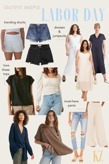 Labor Day Outfit Inspo - Fall Trending Fashion   #LTKcurves #LTKstyletip #LTKSeasonal