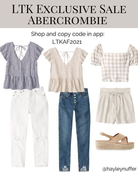 I think these are the prettiest summer tops! They looks so light and fun to wear!    #LTKsalealert #LTKstyletip #LTKcurves