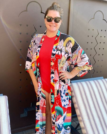 Kimono coverup / robe perfect travel companion! Amazon fashion. http://liketk.it/3jf5N #liketkit @liketoknow.it #LTKunder50 #LTKtravel #LTKstyletip Shop my daily looks by following me on the LIKEtoKNOW.it shopping app