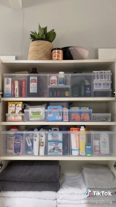 There is something so satisfying about turning a messy cupboard into perfectly organized space!   #LTKunder50 #LTKhome #StayHomeWithLTK