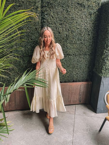 Trying to bring some Sunshine and Summer to the Midwest! 💫   http://liketk.it/3gLhN @liketoknow.it #liketkit #LTKunder100 #LTKstyletip #LTKtravel #chicwish #dress #summer #sandals #marcfisher #ootd