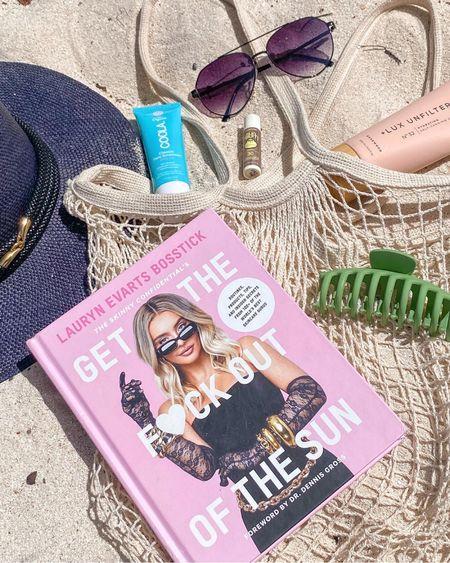 Beach essentials🤍🌊  Hat is from Hannia Char Artwear   #LTKunder50 #LTKunder100 #LTKbeauty #liketkit @liketoknow.it http://liketk.it/3k3j9